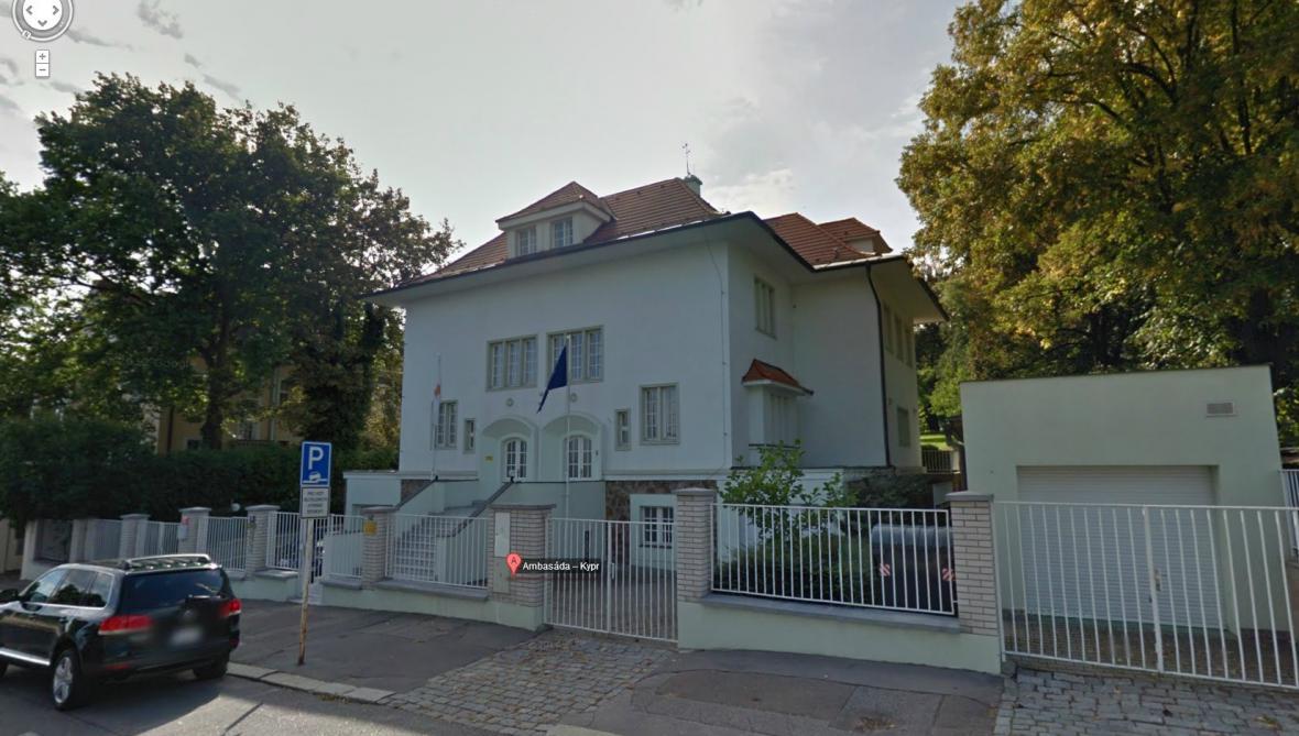 Kyperské velvyslanectví v Praze
