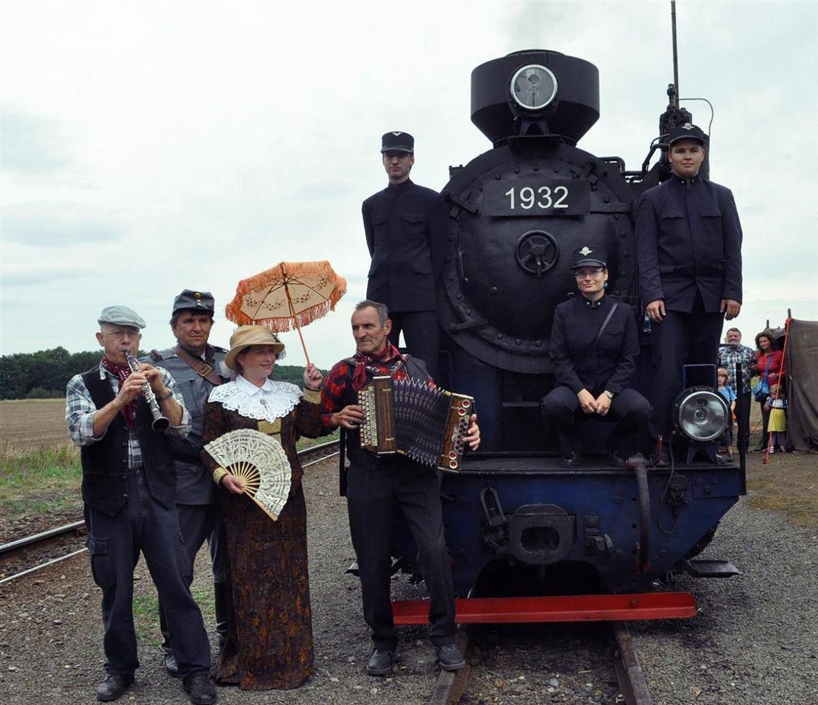 Osoblažsko - parní lokomotiva