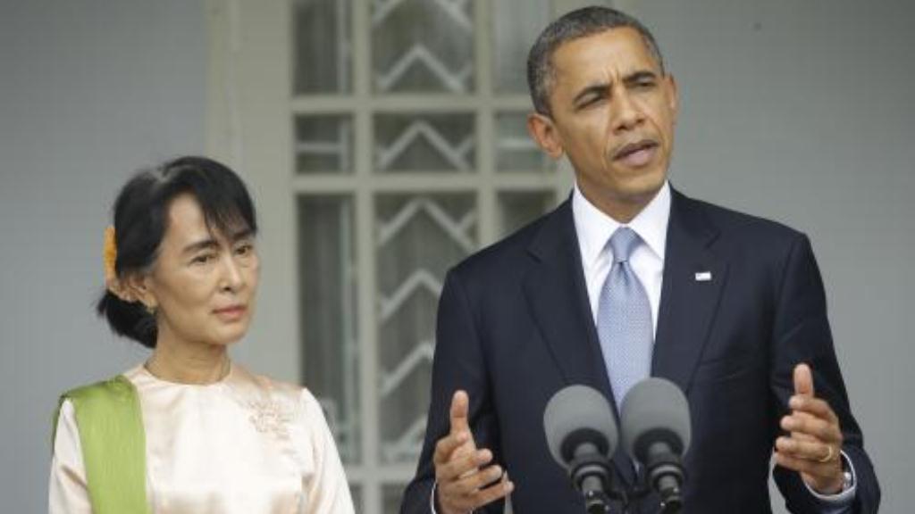 Su Ťij a Barack Obama