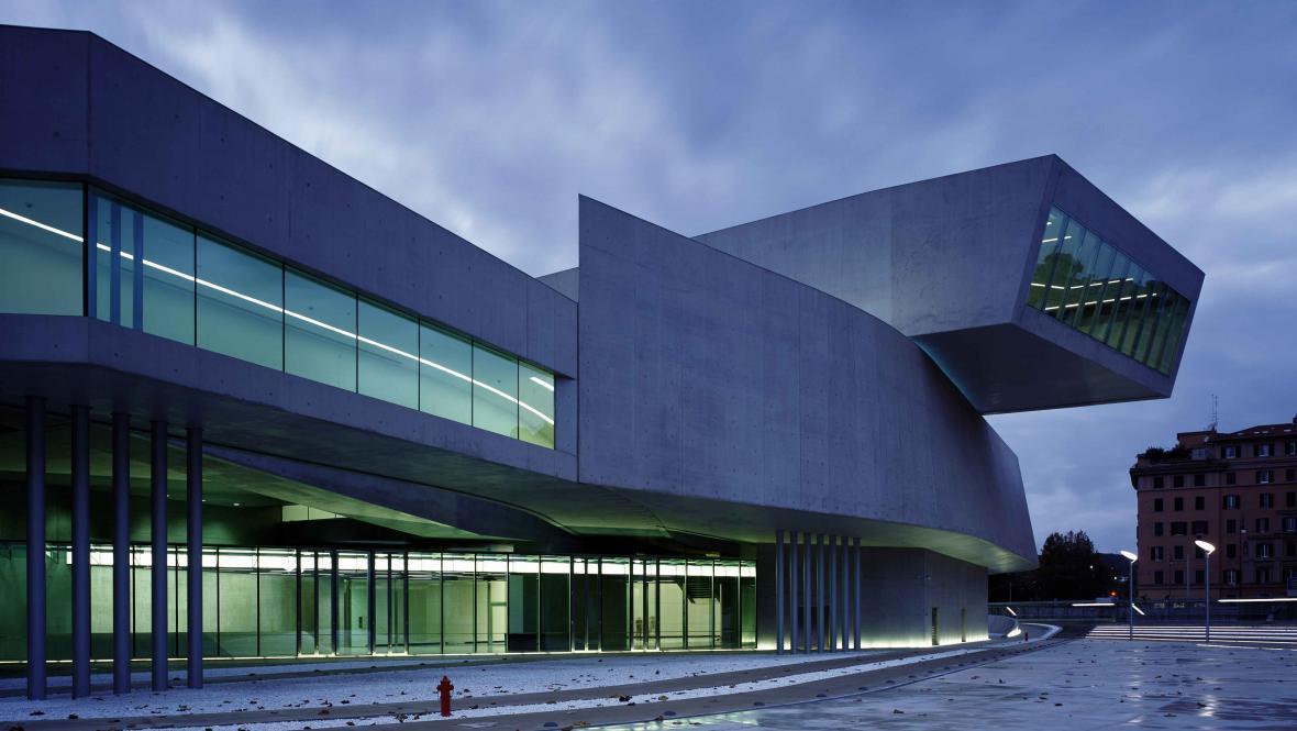 Muzeum moderního umění MAXXI v Římě