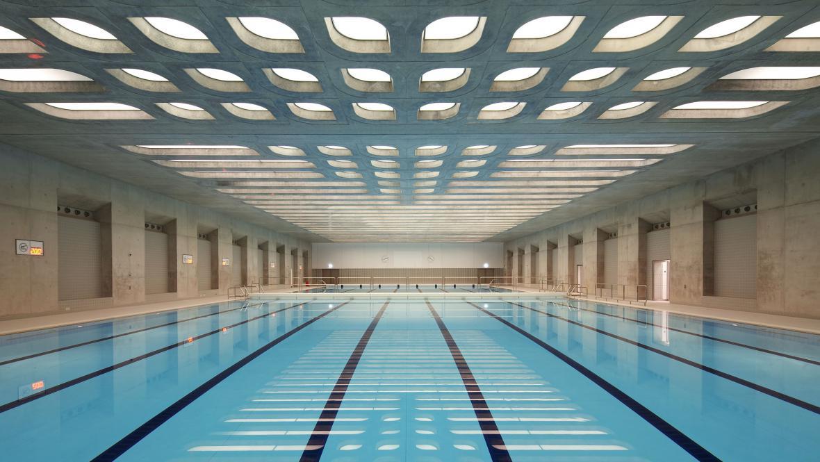 Plavecký stadion v Londýně