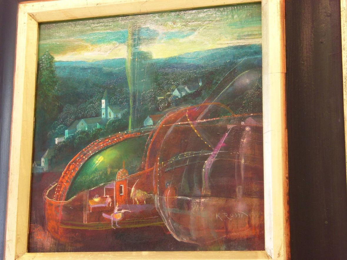Karel Rossí - z výstavy v Boskovicích