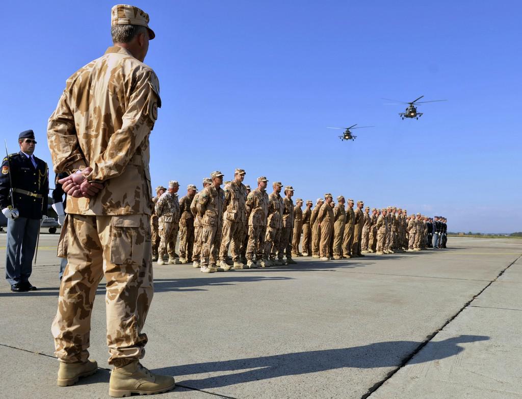 Vojenský nástup