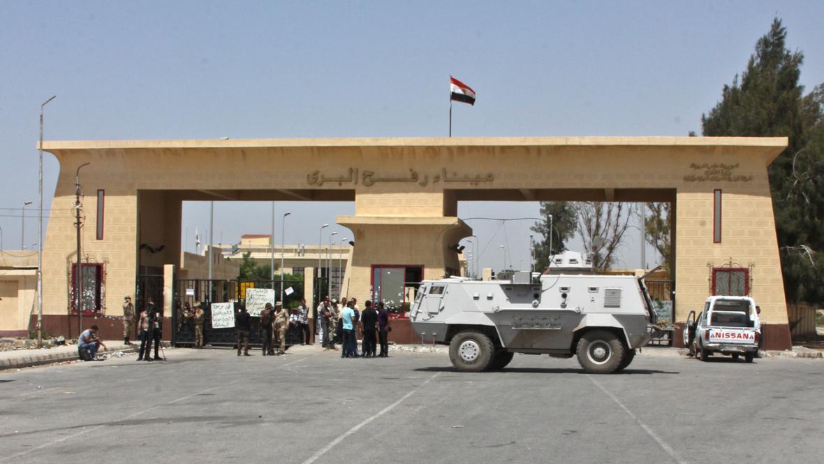 Hranice mezi Egyptem a Gazou