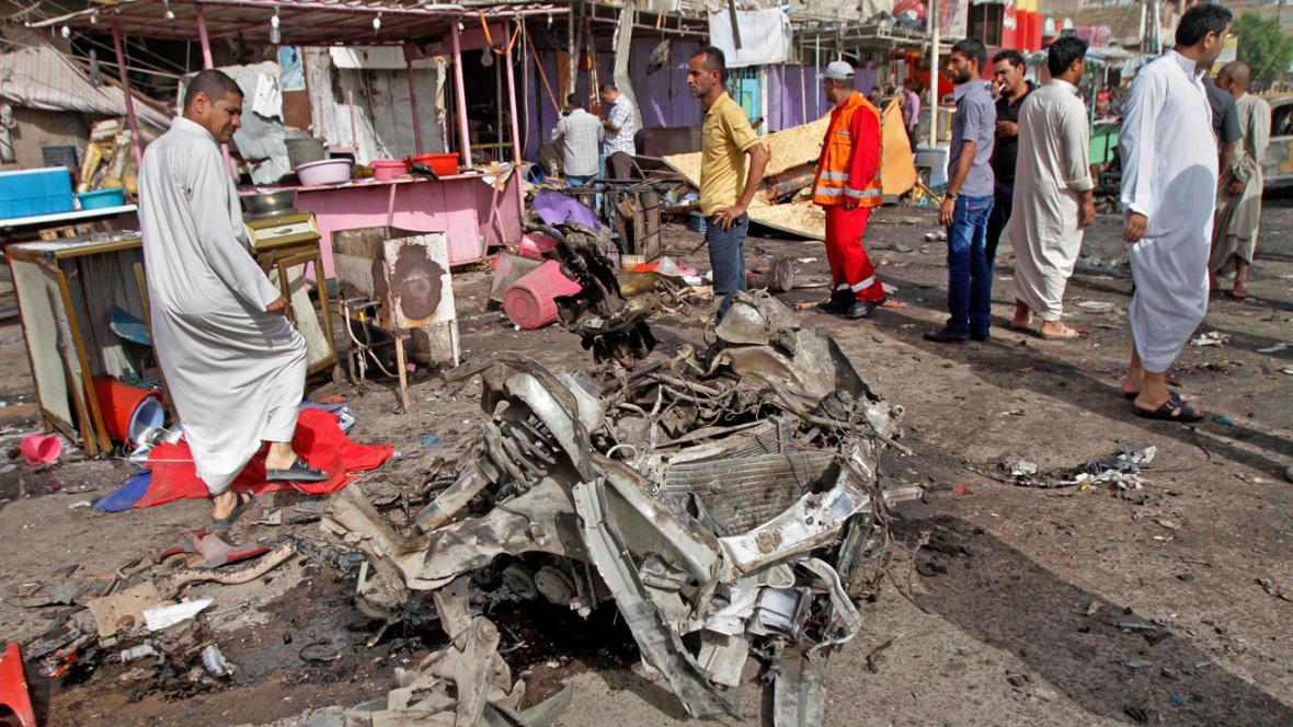 Pumový útok v Basře