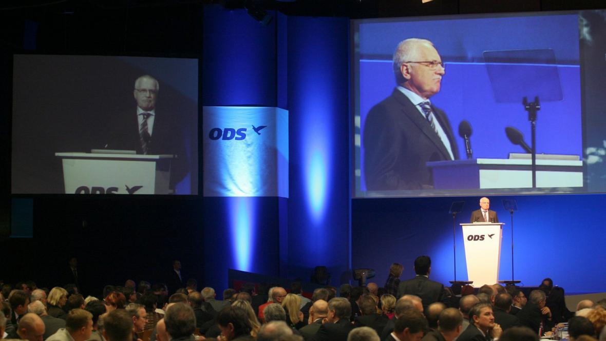 Kongres ODS v roce 2008