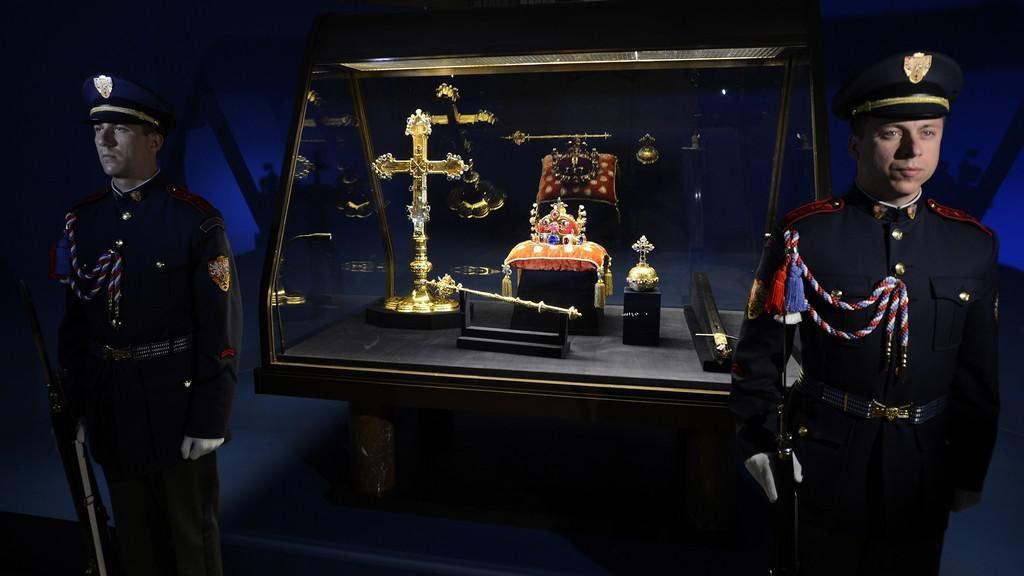 Korunovační klenoty na Pražském hradě
