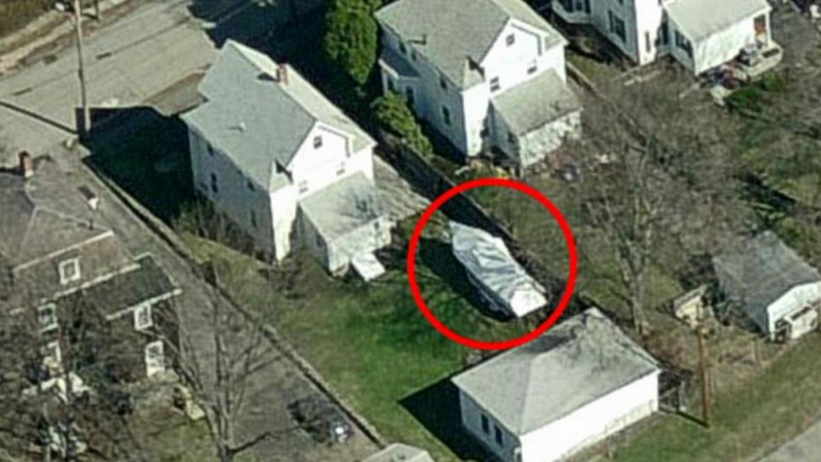 Místo, kde se schovával Džochar Carnajev
