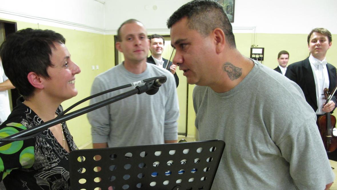 Renáta Spisarová ve věznici Ostrava-Heřmanice