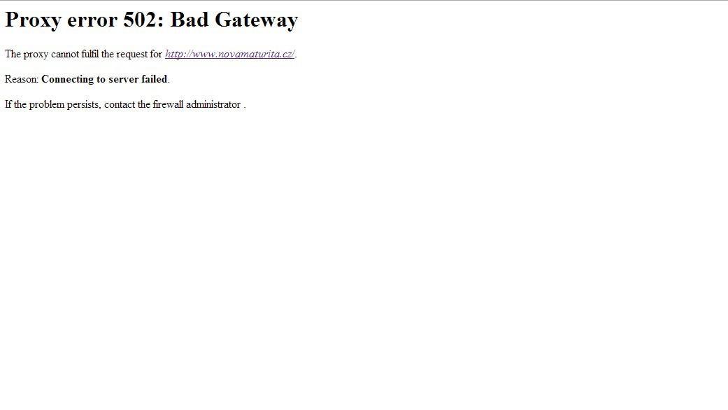 Zahlcený web státních maturit