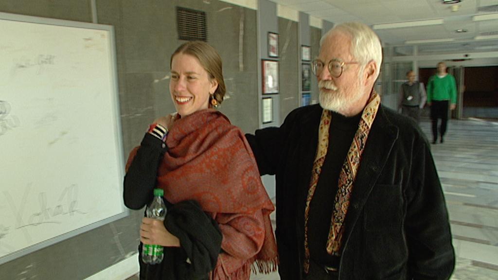 Robert Fulghum s manželkou