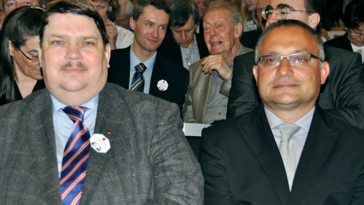 Bernd Posselt a David Vondráček