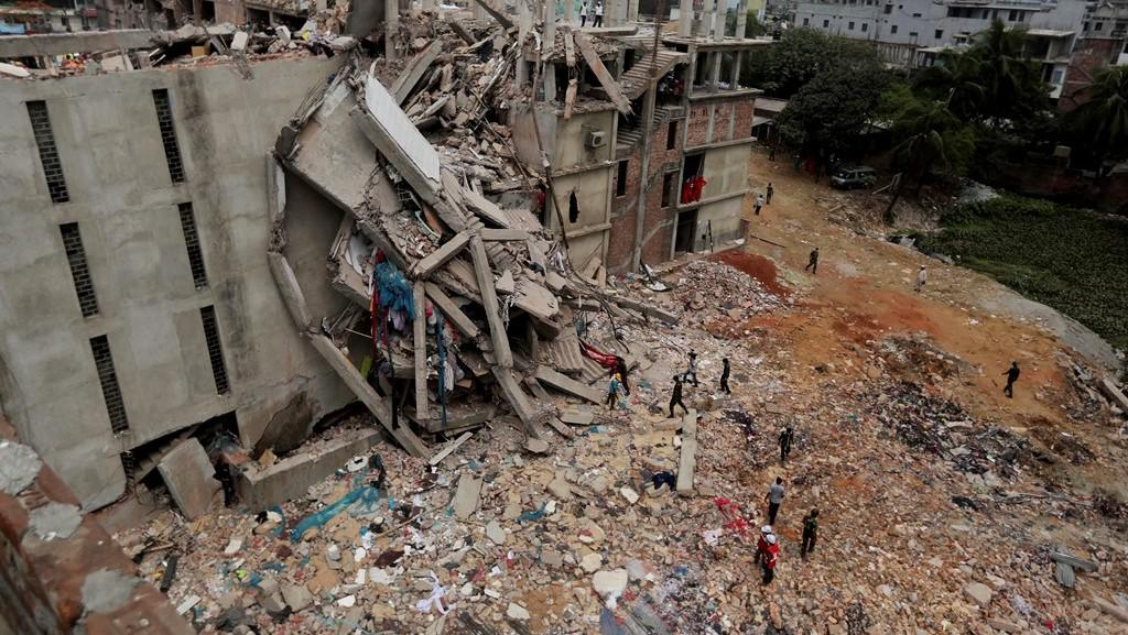 Ruiny textilky v Dháce