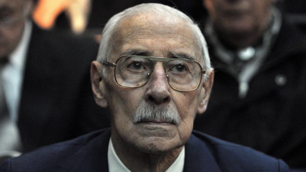 Bývalý argentinský diktátor Jorge Videla