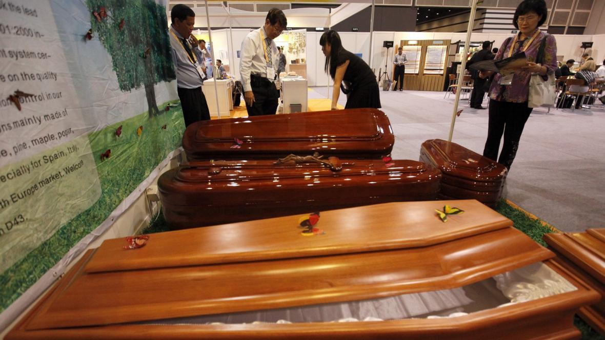 Festival pohřebnictví v Hongkongu