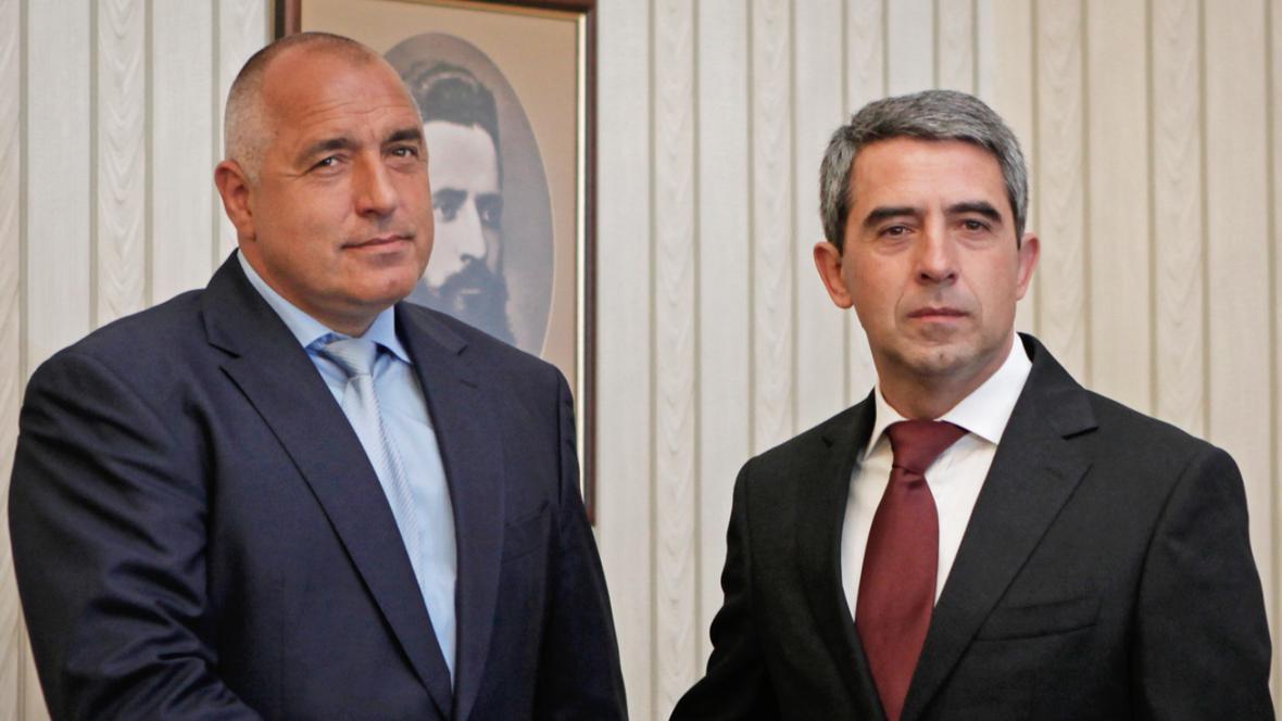 Bojko Borisov a Rosen Plevneliev