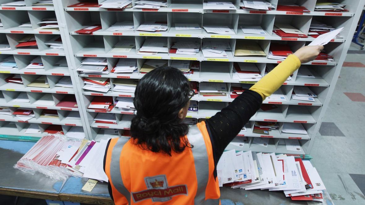 Britská pošta