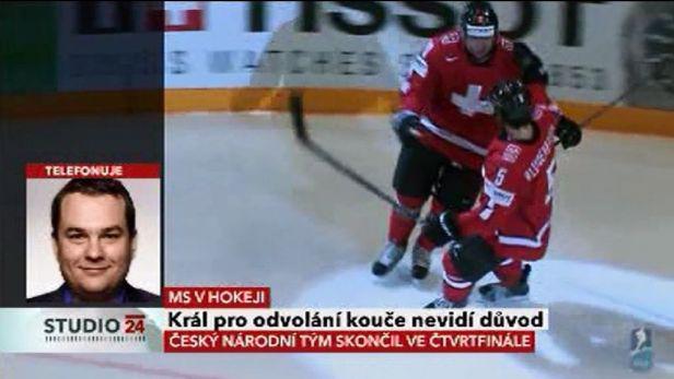 Telefonát Michala Dusíka k neúspěchu na MS v hokeji