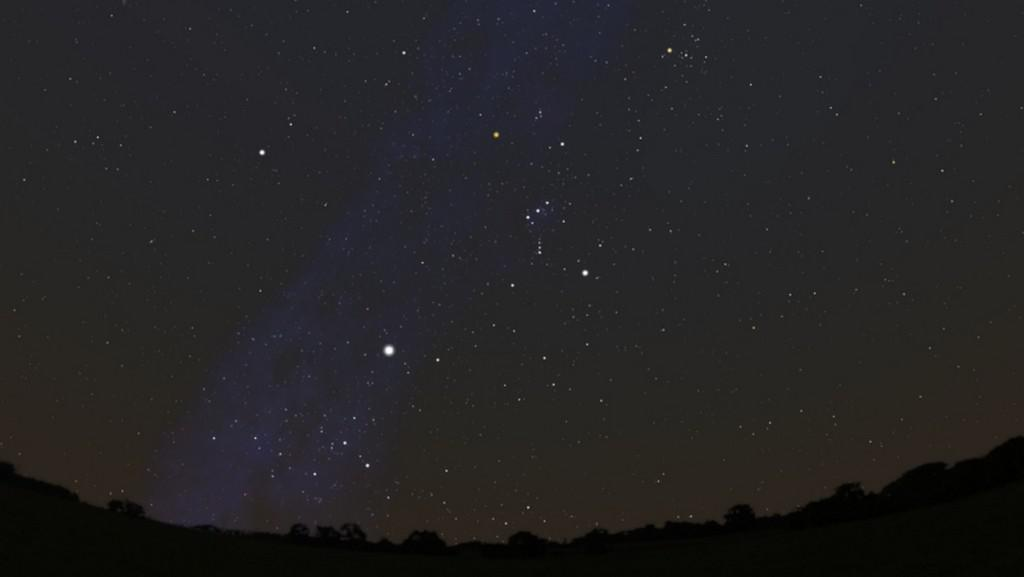 3. stupeň: Venkovská obloha