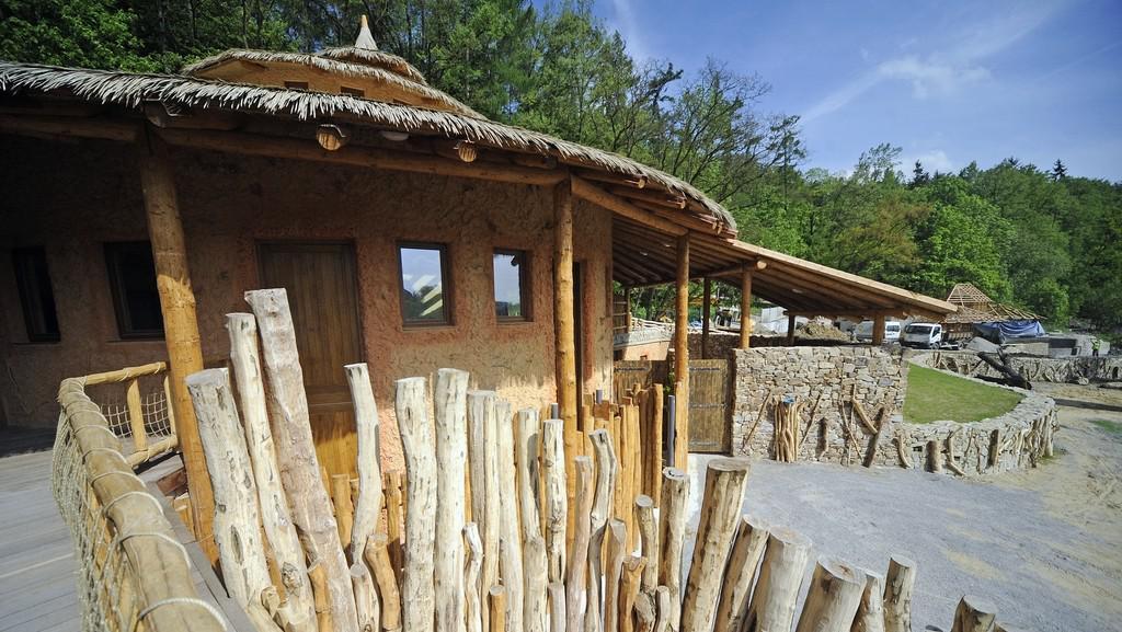 Nový pavilon pro žirafy v jihlavské zoo