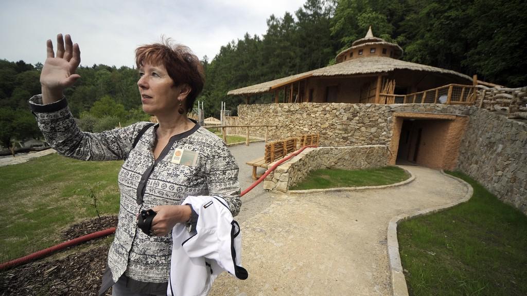Ředitelka Zoo Jihlava Eliška Kubíková