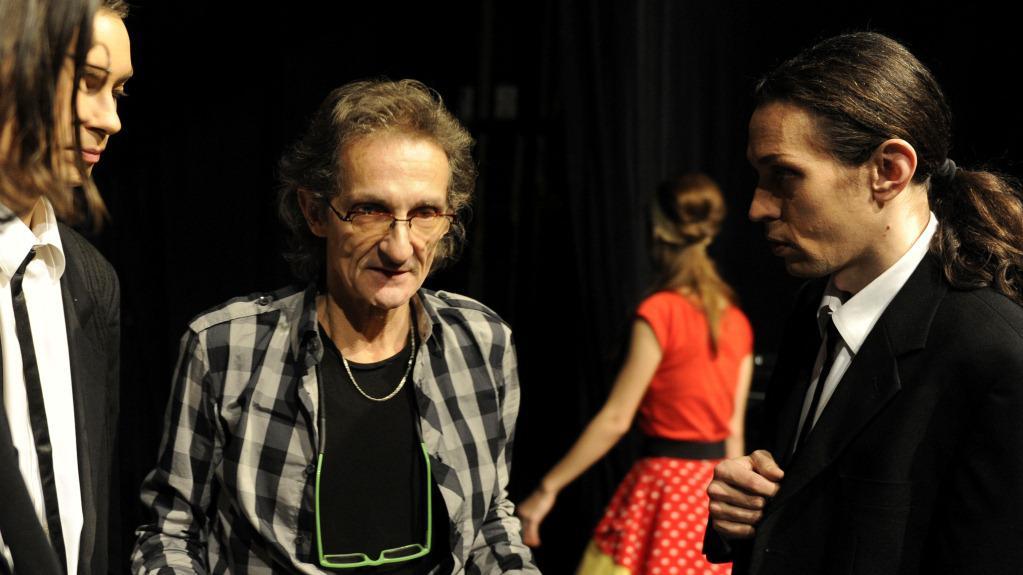 Choreograf a režisér Igor Vejsada (uprostřed)