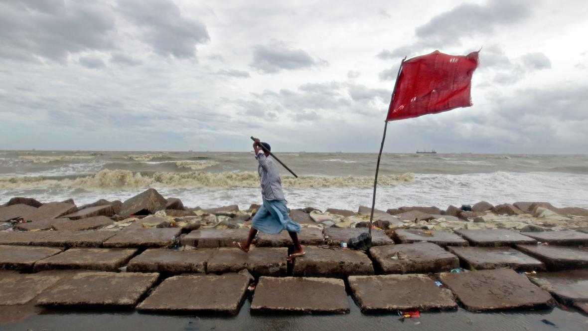 Cyklon Mahasen v Bangladéši