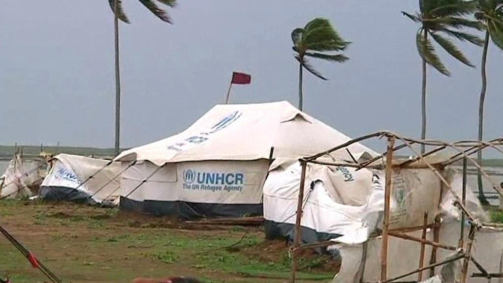 Barma se připravuje na cyklon Mahasen