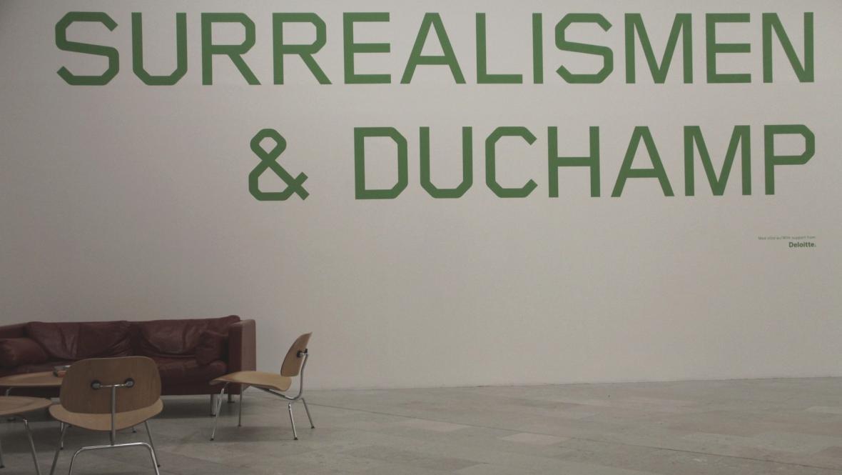 Surrealismus & Duchamp v Moderna Museet