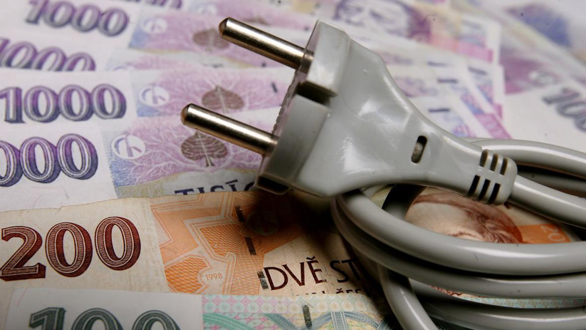 Růst cen energií