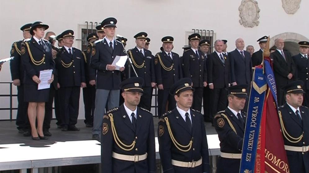 Vedení jihomoravských hasičů