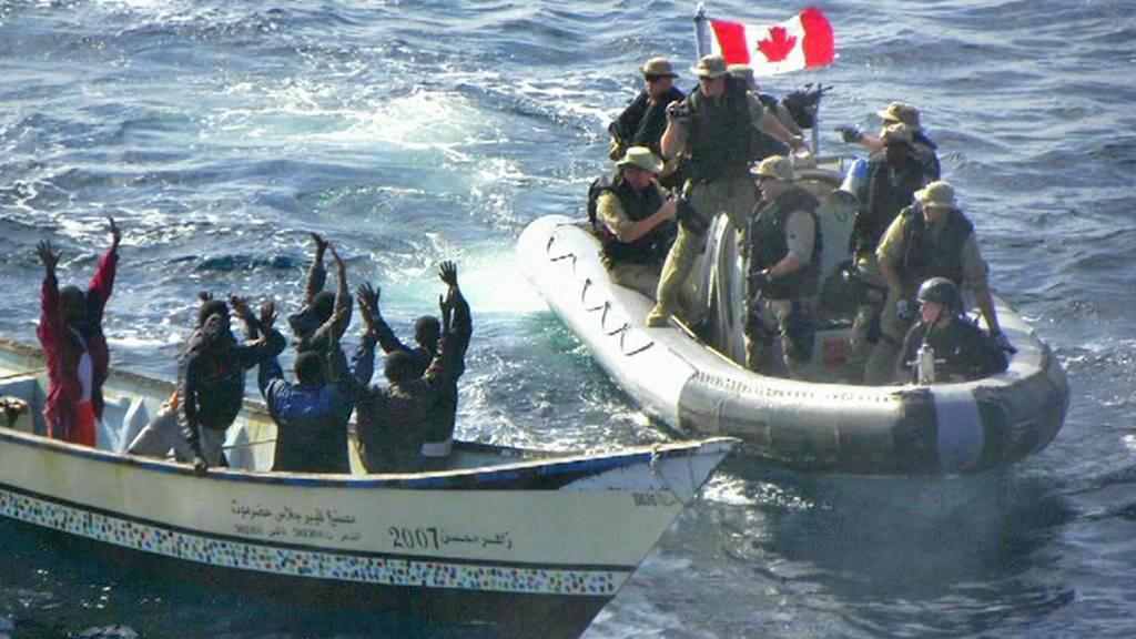 Zadržení somálských pirátů