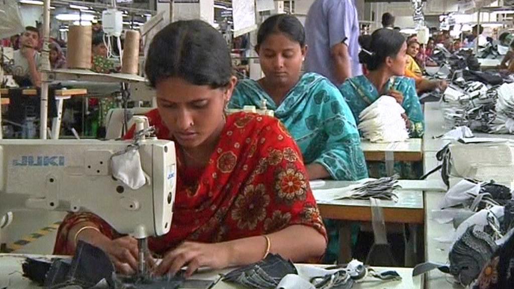 Textilka v Bangladéši