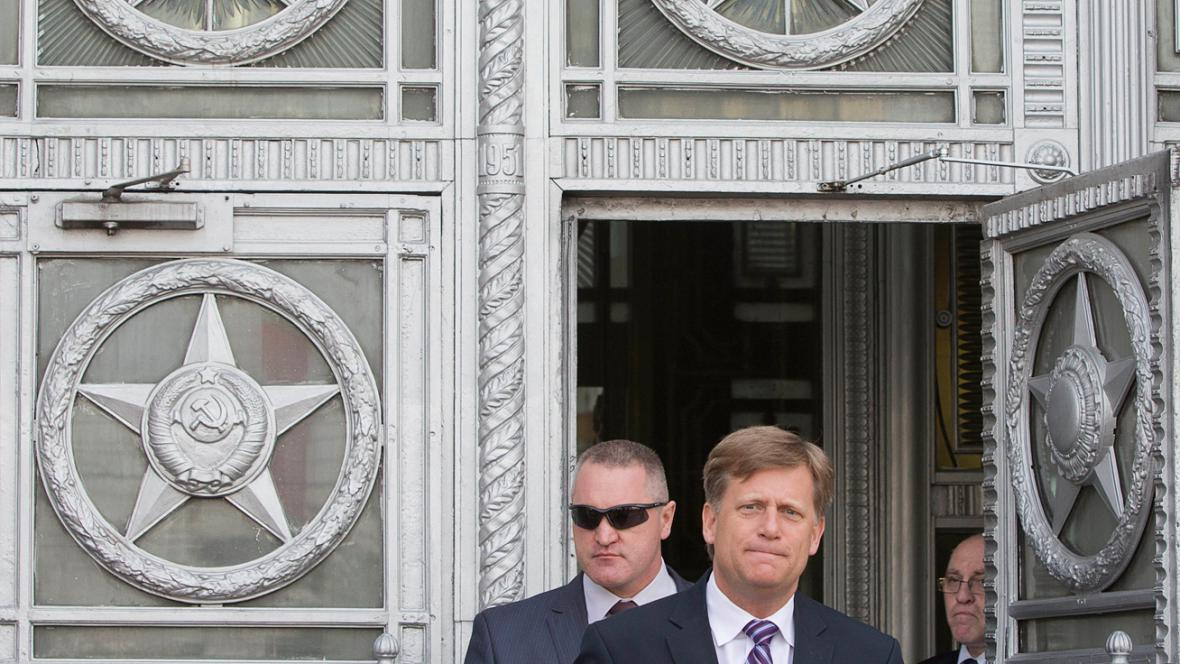 Michael McFaul opouští ruské ministerstvo zahraničí