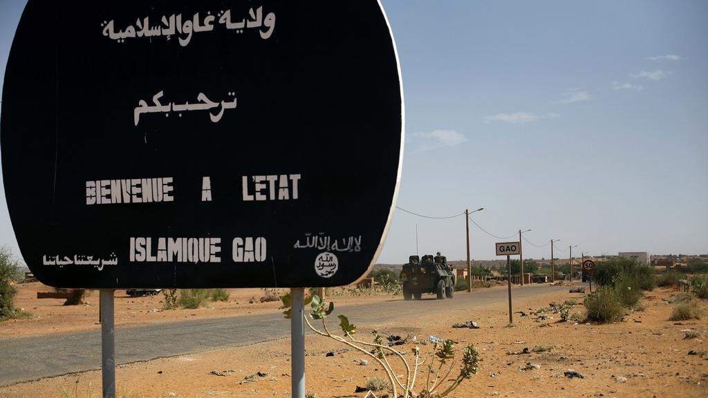 Francouzské jednotky v Mali