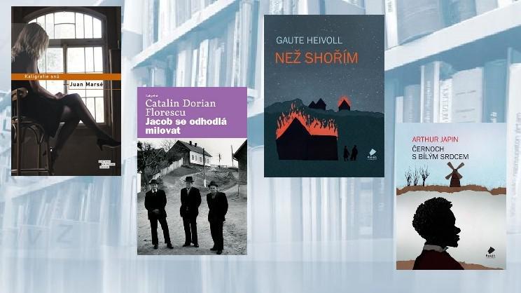 Některé tituly z Noci literatury 2013