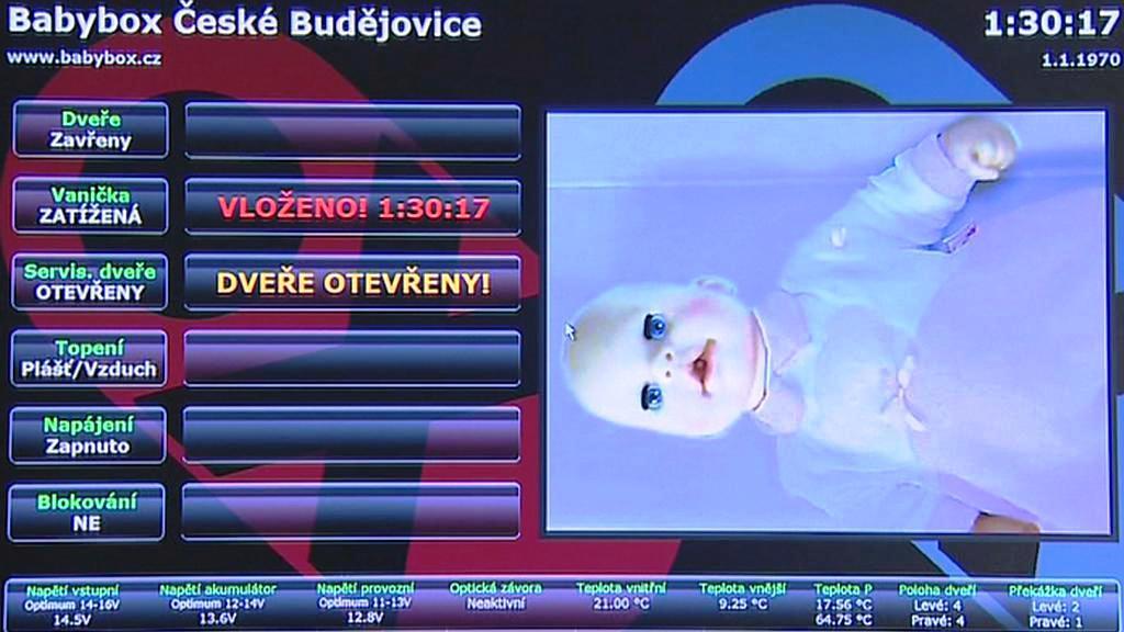 Monitor babyboxu nové generace