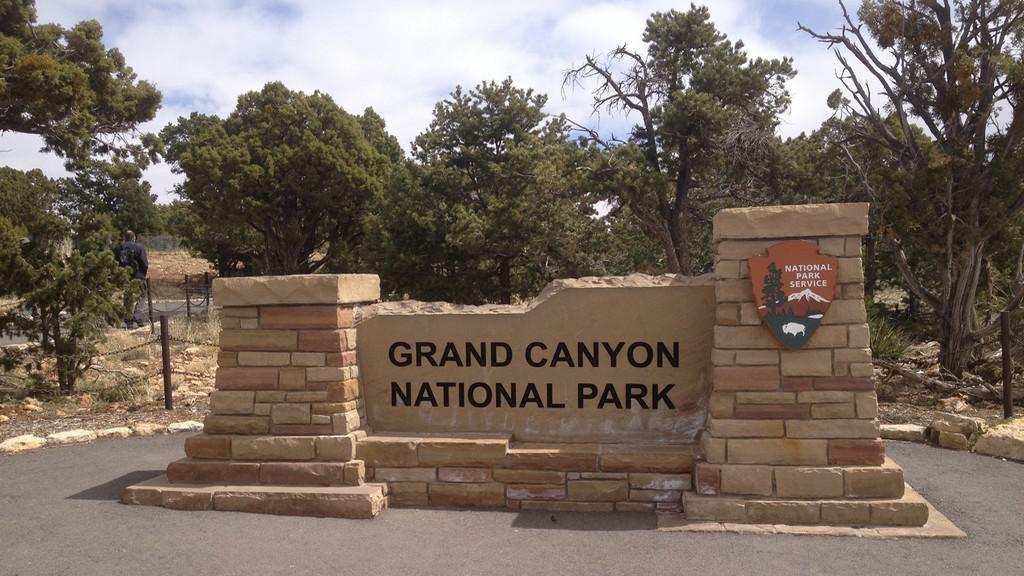 Vítejte v Grand Canyonu