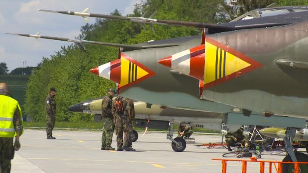 Česko-polské vojenské cvičení v Náměšti