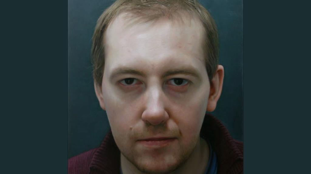 Jan Mikulka / Autoportrét