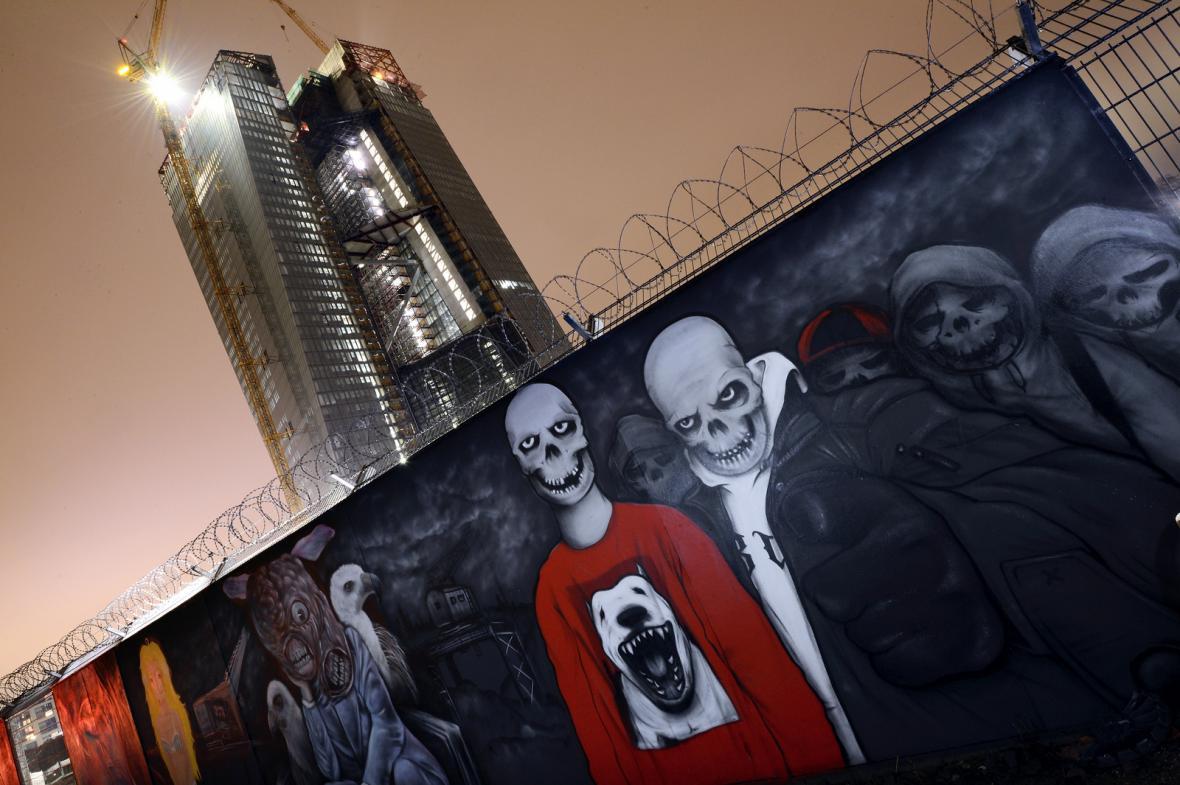 Stavba nového sídla ECB