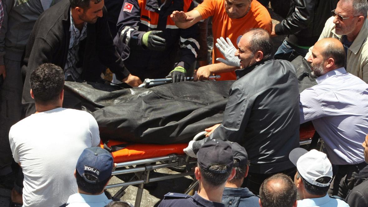 Oběť výbuchu v tureckém Reyhanli