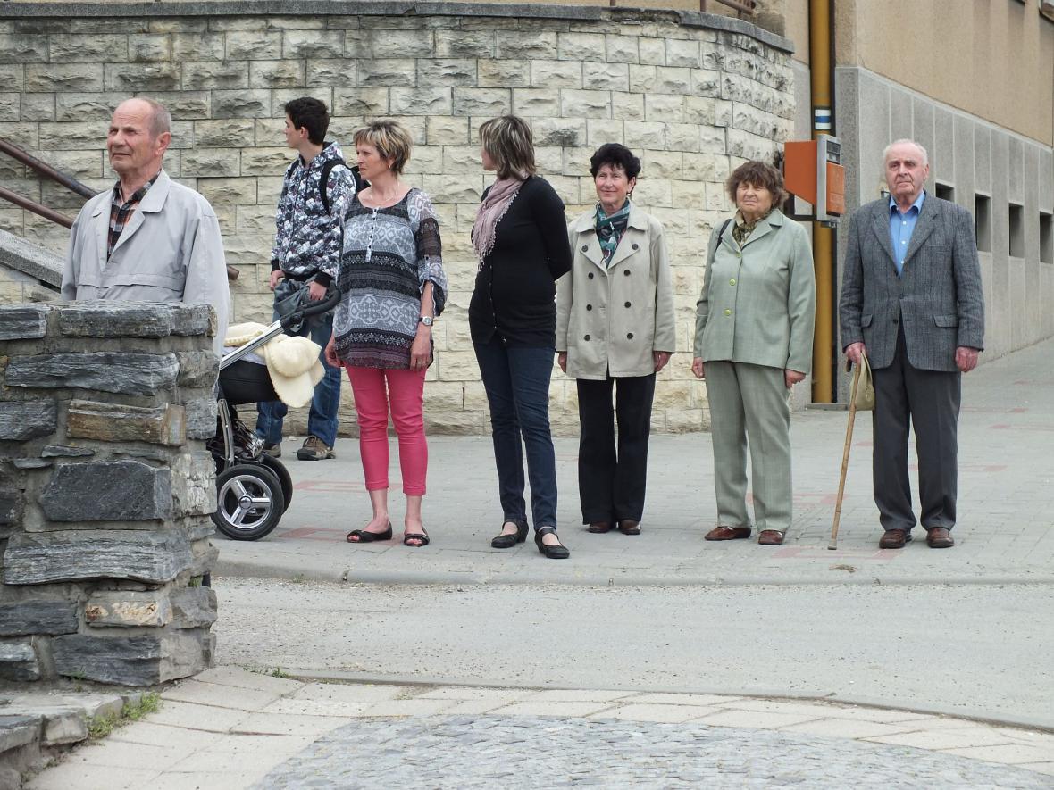 Pietní akt v Boskovicích