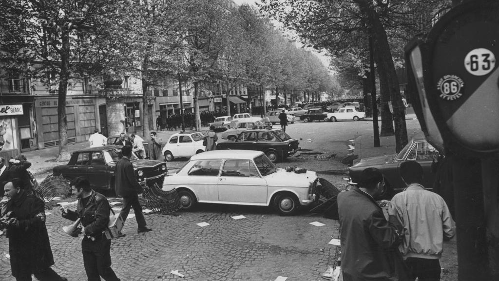 Studentské protesty na jaře 1968