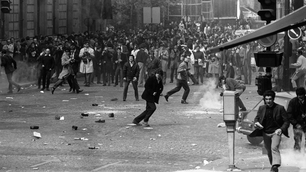 Studentské bouře ve Francii na jaře 1968