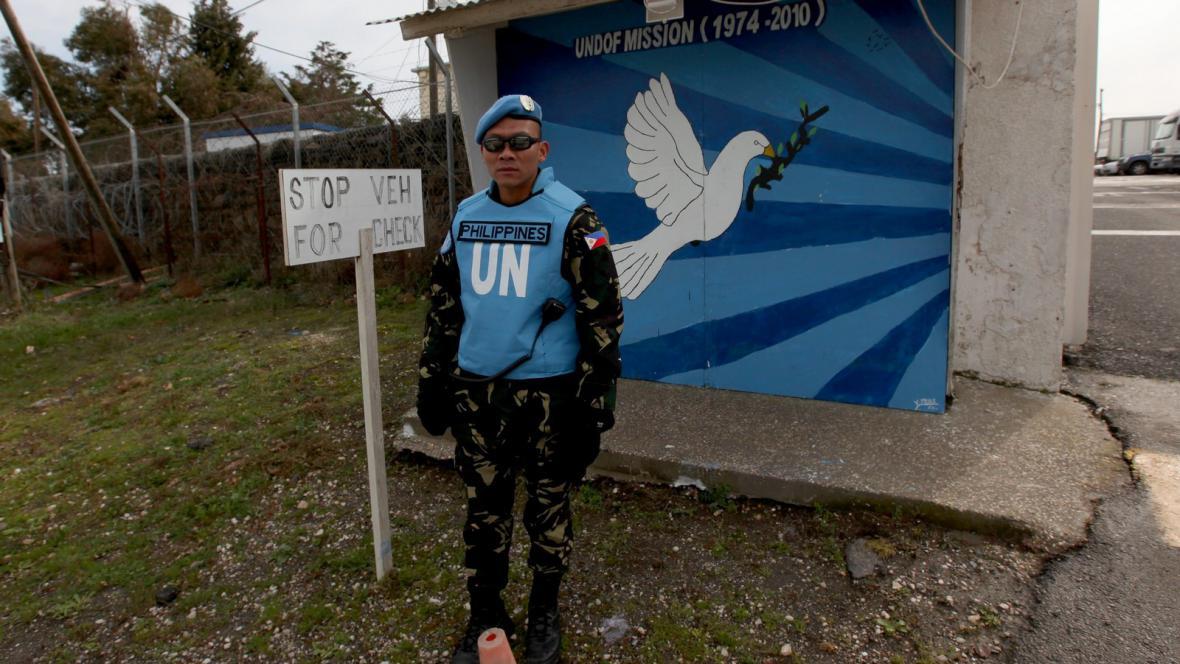 Filipínský člen pozorovatelské mise OSN