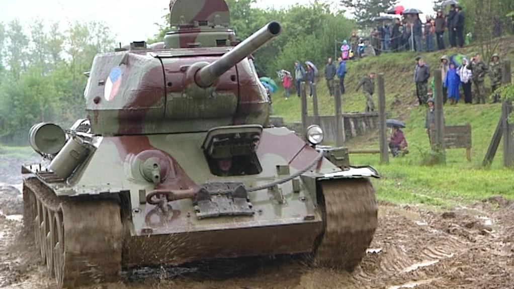 Ukázky z bojů na konci války na Rokycansku
