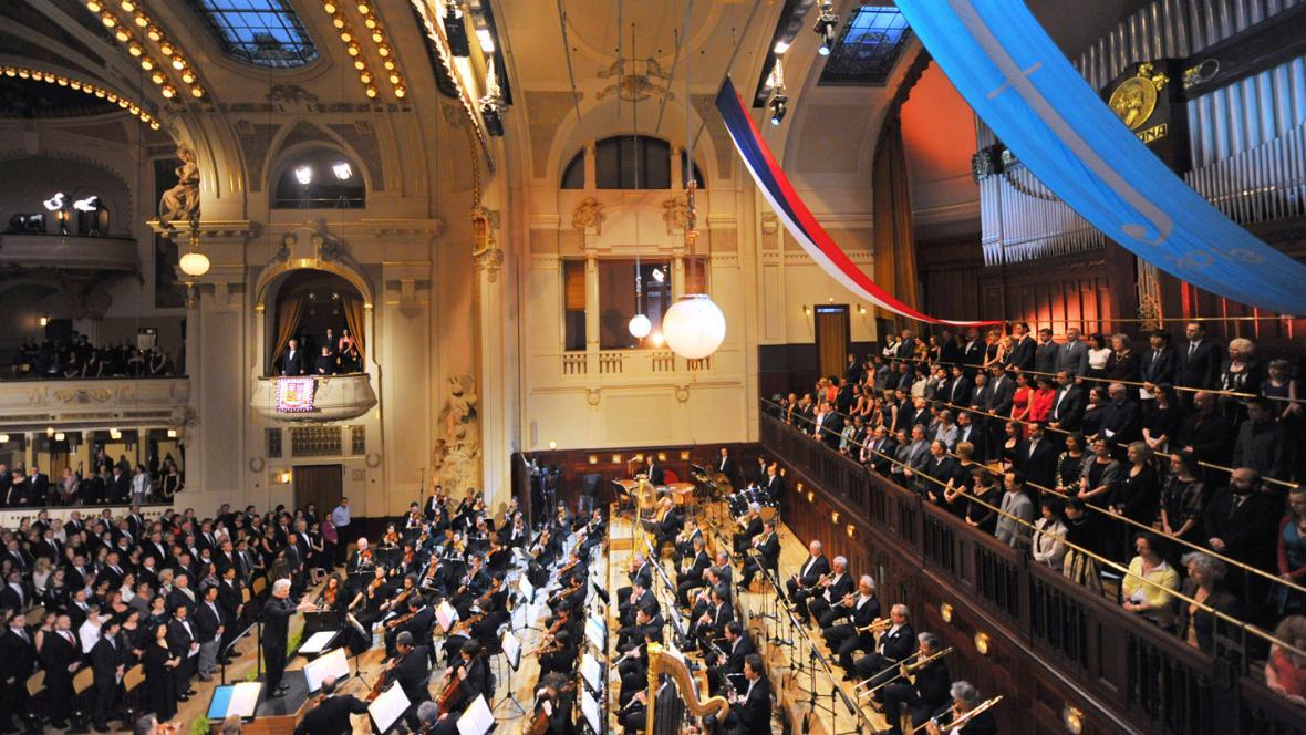 Zahájení 68. ročníku Pražského jara