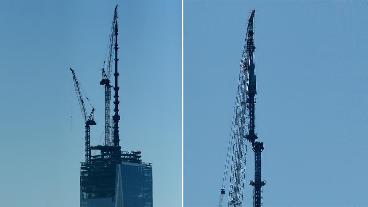 Stožár na budově OWTC