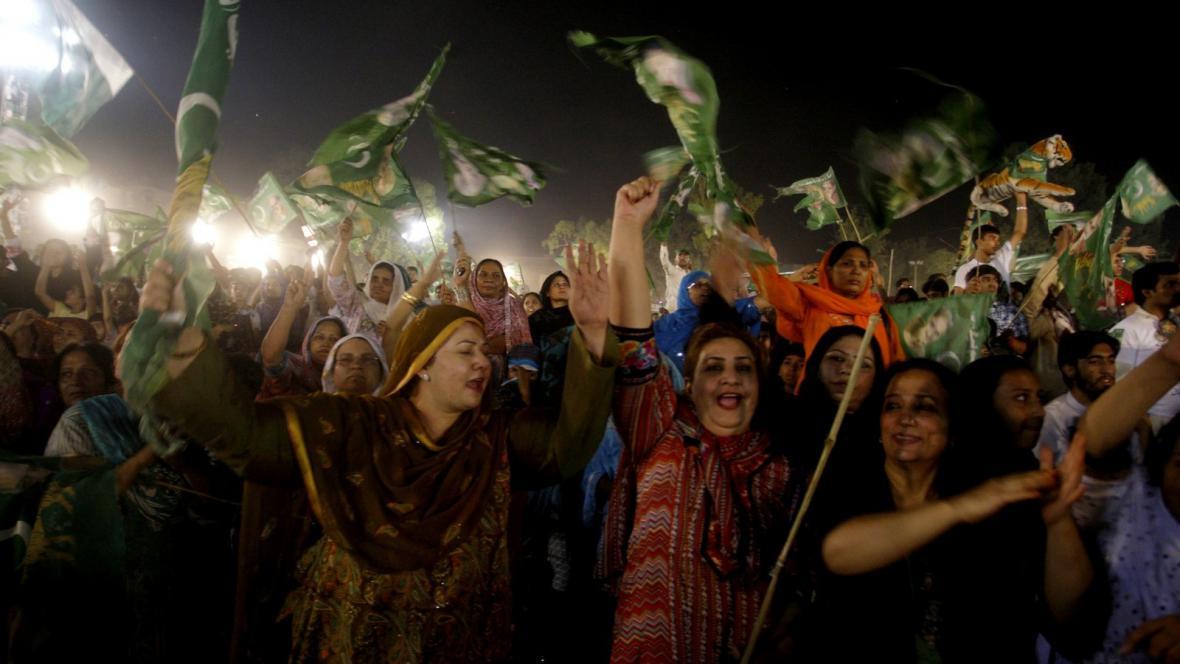 Do pákistánských voleb se zapojil rekordní počet žen